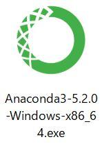 Anacondaのインストーラ