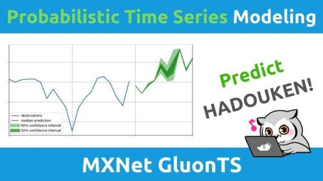 MXNetとGluonTSによる時系列データ予測