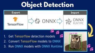 ONNX RuntimeとSSDでリアルタイム物体検出