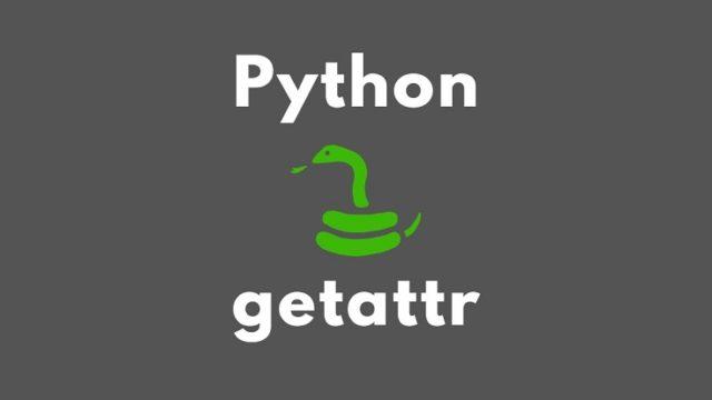 Python getattr