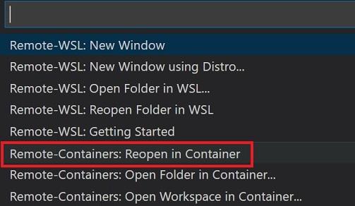 WSL2 + VSCode + Docker 接続