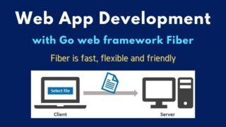 GoのWebフレームワークFiber